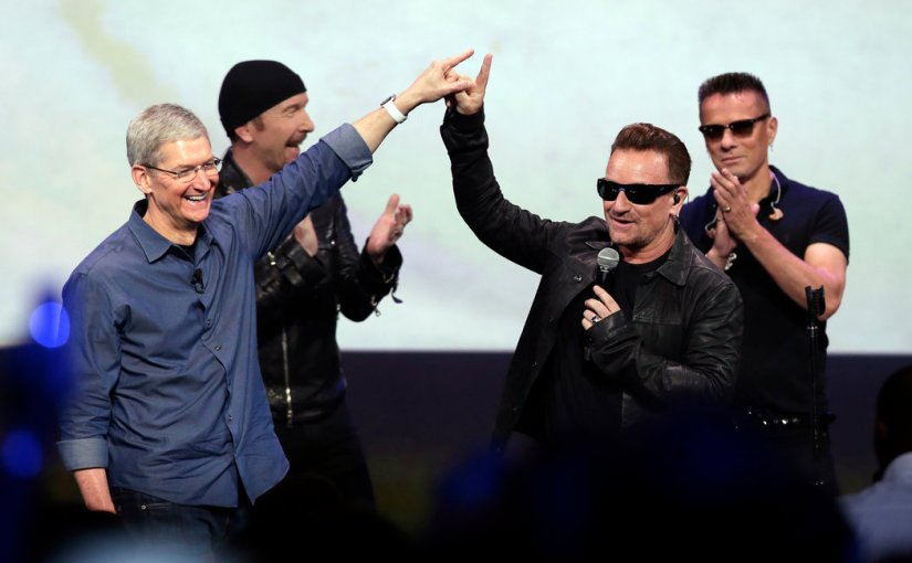 A Letter to U2: Bono, Edge, Adam, & Larry (Sammy)